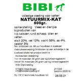 Bibi Natuurmix voor de kat, 500 gram_