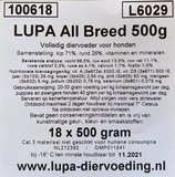 Lupa All Breed Compleet 18x500 gram_