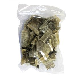 Kabeljauwhuid stukjes 100 gram