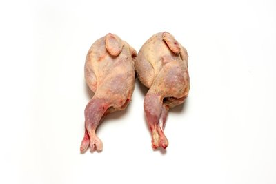 Kwartel zonder veren, bulk 5 kilo